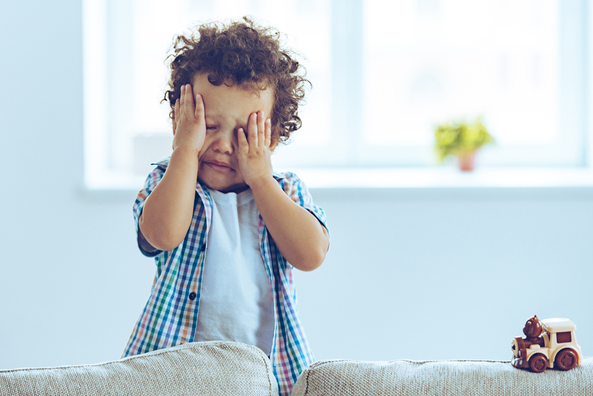 Five steps for stopping a temper tantrum